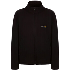 Regatta King II Fleece Jas Kinderen, black/black